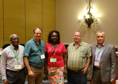 ASM_2015 Outgoing president with new members